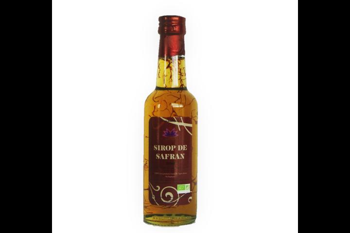 Sirop de Safran BIO, 250 ml