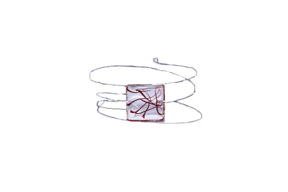 """Bracelet mémoire de forme """"Safran Unique"""""""