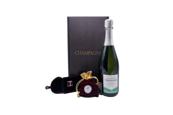 Spécial Saint Valentin - Coffret Champagne, Safran et Bague