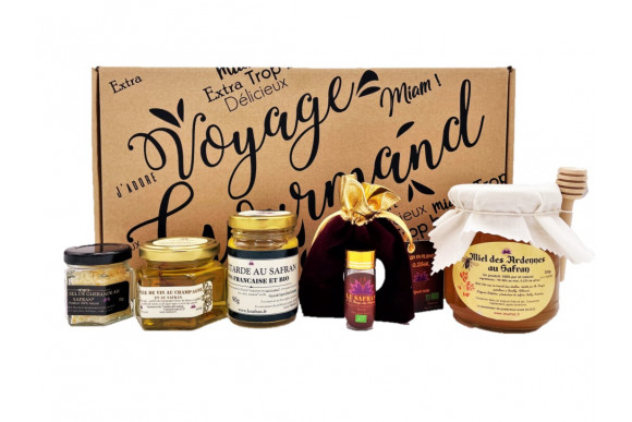 "Coffret ""Voyage Gourmand"" prestige"