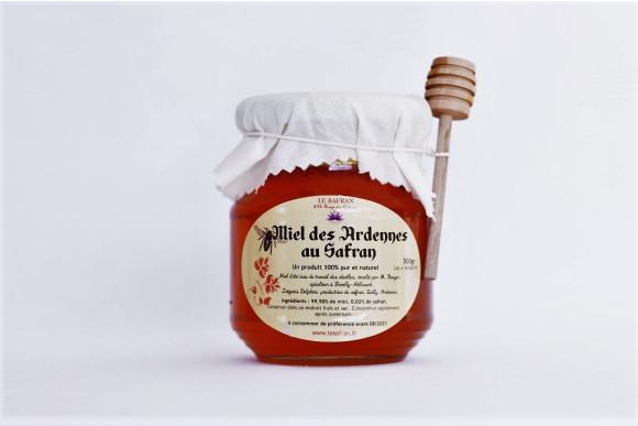 Miel des Ardennes au Safran