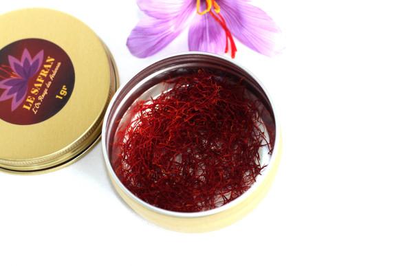 Safran sec en filaments : le pot fin gourmet, 0.5gr
