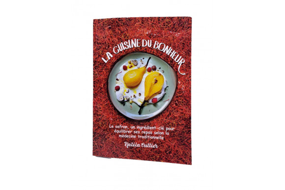 """Livre """"La cuisine du bonheur"""" par Natéla Outtier"""