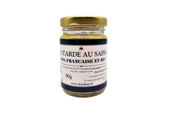 Moutarde BIO au Safran