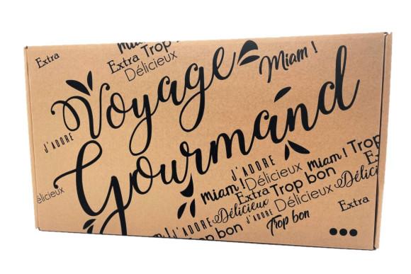 """Coffret """"Voyage Gourmand"""" à personnaliser (petit)"""
